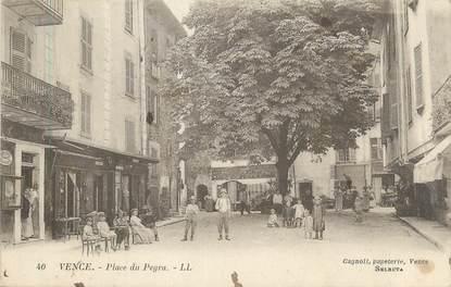 """CPA FRANCE 06 """"Vence, place du Peyra"""""""
