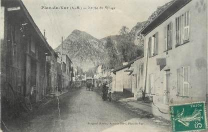 """CPA FRANCE 06 """"Plan du Var, entrée du village"""""""