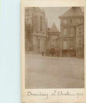 """PHOTO FRANCE 73 """"Chambery, le château 1904"""""""