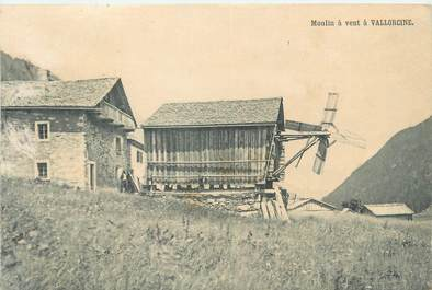 "CPA FRANCE 73 ""Moulin à vent à Vallorcine"""