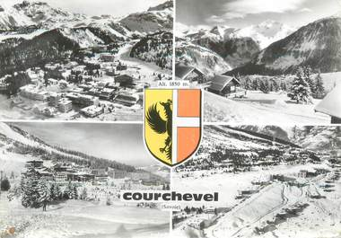 "CPSM FRANCE 73 ""Courchevel """