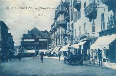 """CPA FRANCE 73 """"Aix les Bains, Place Carnot"""""""
