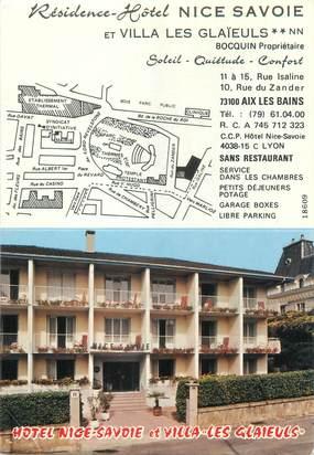 """CPSM FRANCE 73 """"Aix les Bains, résidence Hôtel Nice Savoie"""""""