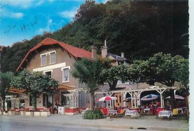 """CPSM FRANCE 73 """"Aix les Bains, hôtel restaurant la Source"""""""