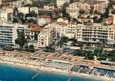 """06 Alpe Maritime CPSM FRANCE 06 """"Juan Les Pins, le Palace et la plage du Grand Pin"""""""
