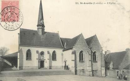 "CPA FRANCE 37 ""Saint Avertin, l'église"""