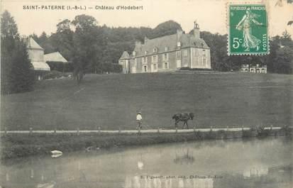 """CPA FRANCE 37 """"Saint Paterne, château d'Hodebert"""""""