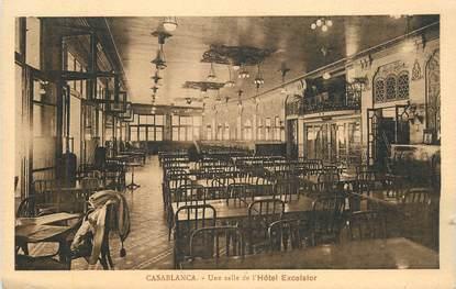 "CPA MAROC ""Casablanca, Hotel Excelsior, une salle"""