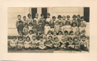 """CARTE PHOTO FRANCE 37 """"Loches, photo de classe"""" / ENFANTS"""