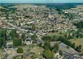 """37 Indre Et Loire CPSM FRANCE 37 """"Sainte Maure de Touraine, vue générale aérienne"""""""