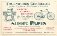 """37 Indre Et Loire CPA PUBLICITAIRE FRANCE 37 """"Tours, Albert Papin"""" / FOURNITURES GENERALES"""