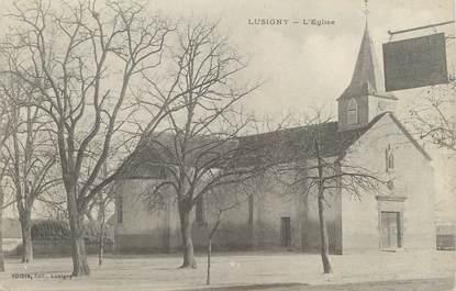 "CPA FRANCE 03 ""Lusigny, l'église"""