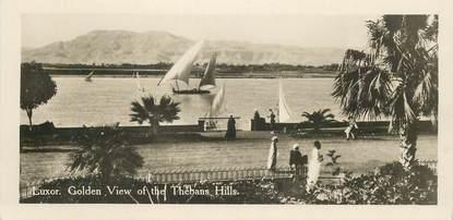 "CPA EGYPTE ""Luxor, vue de Thebans Hills"""