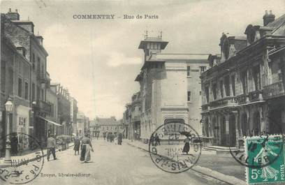 "CPA FRANCE 03 ""Commentry, rue de Paris"""