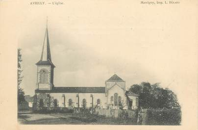 "CPA FRANCE 03 ""Avrilly, l'église"""