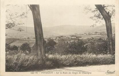 """CPA FRANCE 03 """"Peraclos, sur la route des Gorges de Chouvigny"""""""