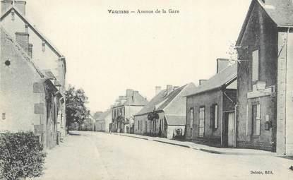 """CPA FRANCE 03 """"Vaumas, avenue de la gare"""""""