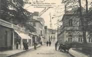 """03 Allier CPA FRANCE 03 """"Néris Les Bains, avenue Boisrot Desserviers et l'établissement thermal"""""""