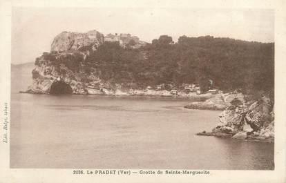 """CPA FRANCE 83 """"Le ¨Pradet, grotte de Sainte Marguerite"""""""
