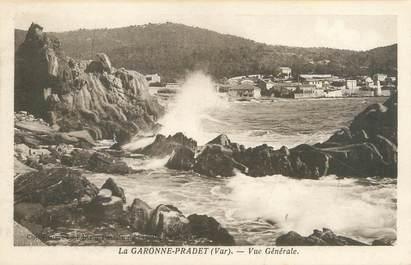 """CPA FRANCE 83 """"Le Pradet, la Garonne Pradet, vue générale"""""""