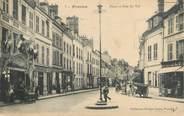 """77 Seine Et Marne CPA FRANCE 77 """"Provins, place et rue du Val"""""""