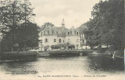 """CPA FRANCE 38 """"Saint Maurice l'Exil, château du Colombier """""""