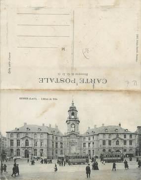 """CPA LIVRET FRANCE 35 """"Rennes, l'hôtel de ville"""""""