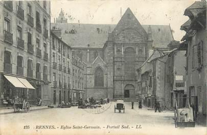 """CPA FRANCE 35 """"Rennes, église Saint Germain"""""""