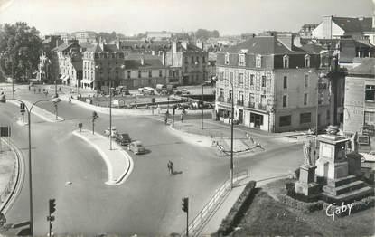 """CPSM FRANCE 35 """"Rennes, Place de la Mission"""""""