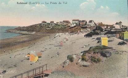 "CPA FRANCE 35 ""Rotheneuf, la pointe du Val"""