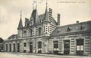"""35 Ille Et Vilaine CPA FRANCE 35 """"Vitré, la gare"""""""