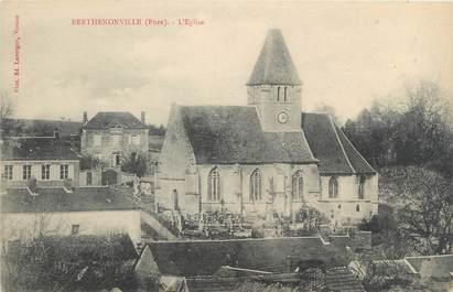 """CPA FRANCE 27 """"Berthenonville, l'église"""""""