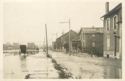 "CPA FRANCE 92 ""Rueil, l'avenue Victor Hugo'"" / INONDATIONS 1910"
