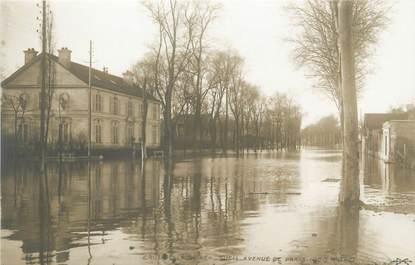 "CPA FRANCE 92 ""Rueil, avenue de Paris"" / INONDATIONS 1910"