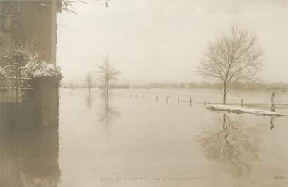 """CPA FRANCE 92 """"Rueil, rue Cramail"""" / INONDATIONS 1910"""