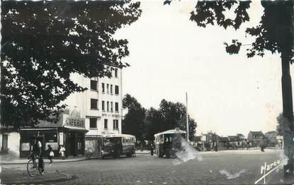 """CPSM FRANCE 93 """"La Courneuve, place du Maréchal Leclerc"""""""