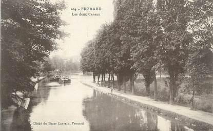 """CPA FRANCE 54"""" Frouard, les deux canaux"""""""