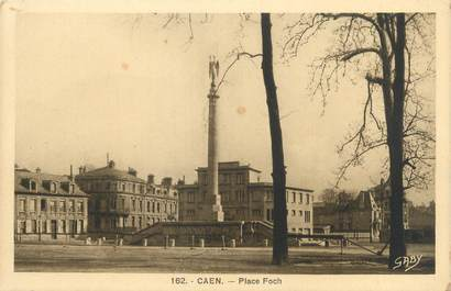 "CPA FRANCE 14 ""Caen, place Foch"""