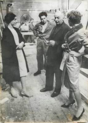 """PHOTO DE PRESSE / PHOTO ORIGINALE / THEATRE """"Janine CHARRAT au Théâtre de Genève"""""""