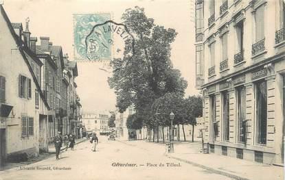 """CPA FRANCE 88 """"Gérardmer, place du tilleul"""""""