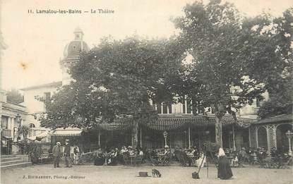 """CPA FRANCE 34 """"Lamalou Les Bains, le théâtre"""""""