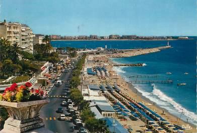 """CPSM FRANCE 06 """"Cannes, la plage du midi"""""""