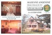 """53 Mayenne CPSM FRANCE 53 """"Forcé, gite de France La Guérinière"""""""