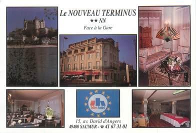 """CPSM FRANCE 49 """"Saumur, le nouveau terminus"""""""
