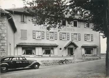 """CPSM FRANCE 07 """"Col de Mezilhac, hôtel des Cévennes"""""""