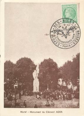 """CPA FRANCE 31 """"Muret, monument de Clément Ader"""""""