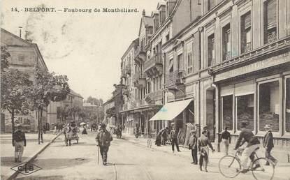 """CPA FRANCE 90 """"Belfort, faubourg de Montbéliard"""""""