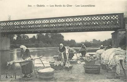 """CPA FRANCE 36 """"Chabris, les lavandières"""""""