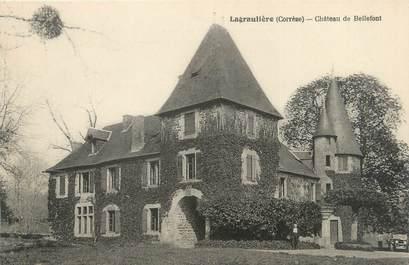 """CPA FRANCE 19 """"Lagraulière, château de Bellefont"""""""