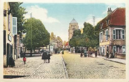 "CPA FRANCE 58 ""Cosne, la rue Saint Agnan"""